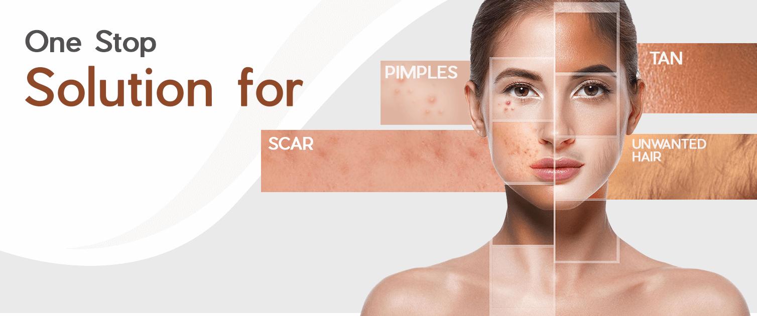 Best Clinic for pimple treatment in Guntur